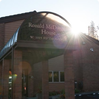 Ronald McDonald House Charities Exterior