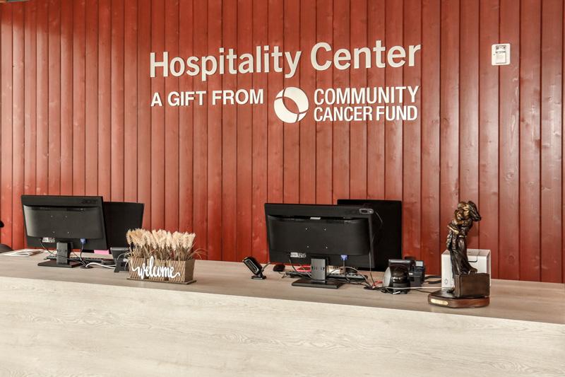 Ronald McDonald House Charities Hospitality Center Lobby