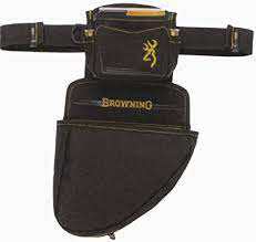 browning shell pouch black and gold