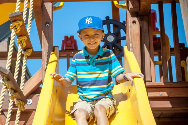 Ronald McDonald House Charities guest on slide